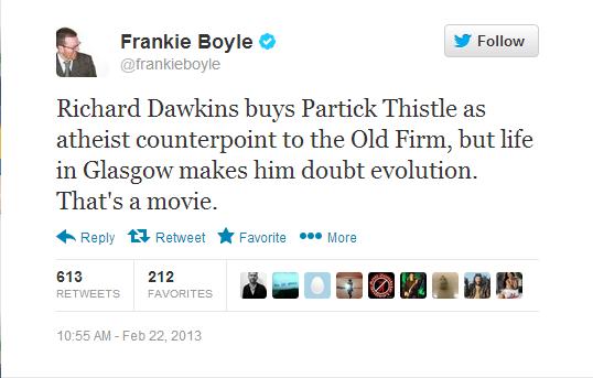 Frankie Boyle. . Frankie Boyle