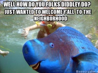 friendly neighbor fish. . Fish ned flanders friendly