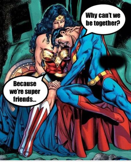 Friendzone Level: Superhero. . friendzone