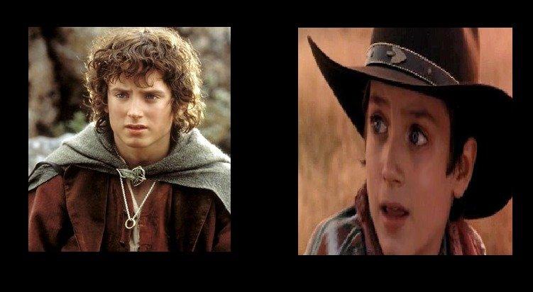 Frodo as a cowboy. . Frodo as a cowboy