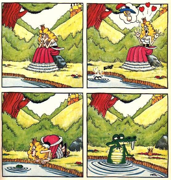 Frog Prince?. Damn Nature! You scary!. Frog prince Damn Nature you