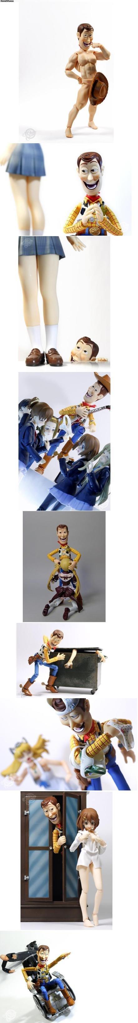 fuckin' woody. . funny Woody doll
