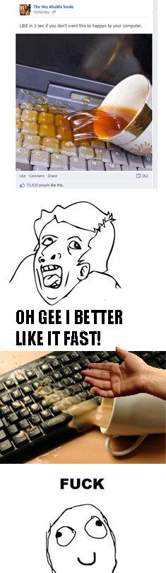 Fucking Facebook. . Ill) viii' i I BETTER LIKE IT HIST!. gotta go fast. Fucking Facebook Ill) viii' i I BETTER LIKE IT HIST! gotta go fast