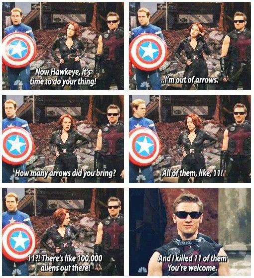 """Fucking Hawkeye. He's right you know.... iria"""" uti. 1.. Original Hawkeye Fucking Hawkeye He's right you know iria"""" uti 1 Original"""