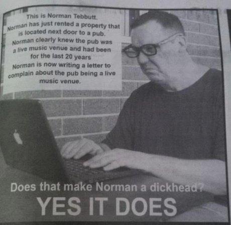 Fucking Norman. . run I: itle? far HIEI ID yuan Hamman new wroung I lunar In mm-. awn! than pub bring an Inn music: i' Ihp' Does that make Norman a dick e YES I Fucking Norman ass hole