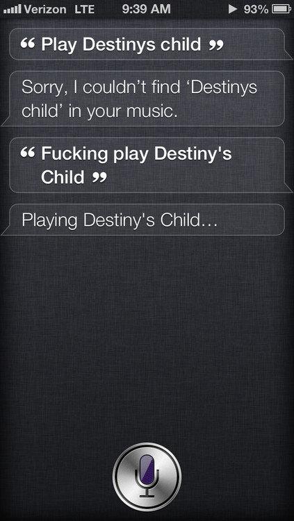 Fucking Siri. . Fucking Siri