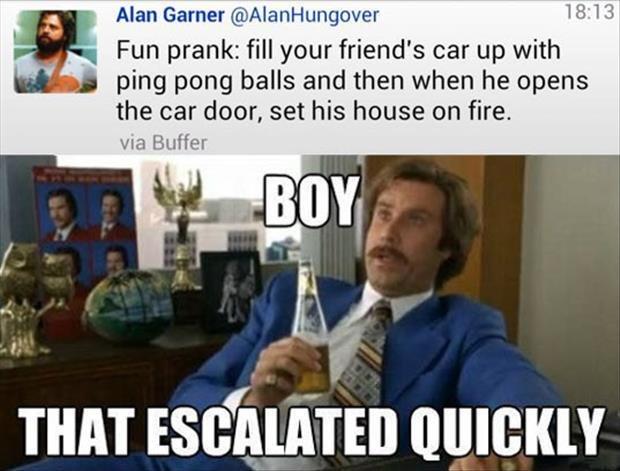 Fun prank. . Fun prank