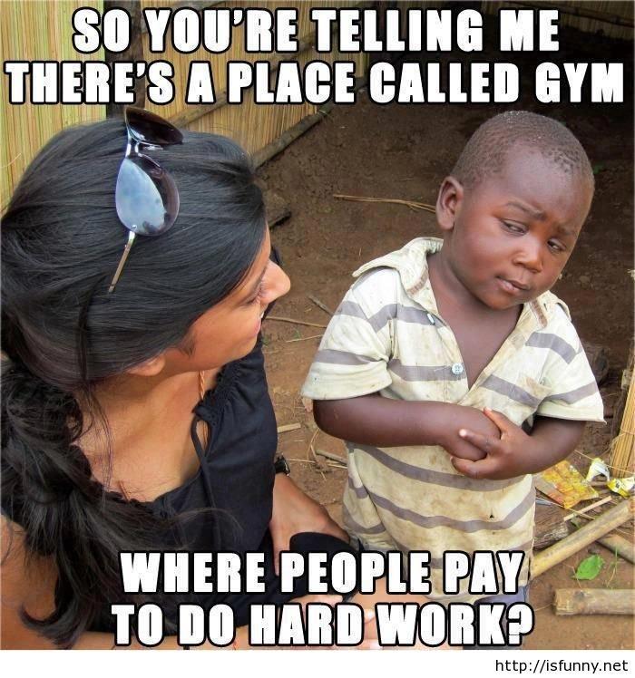 """Funny hard work at gym. Funny hard work at gym isfunny.net/funny-hard-work-at-gym/. IIE ME BALI"""" GYM. off inspiringfunny. funny"""