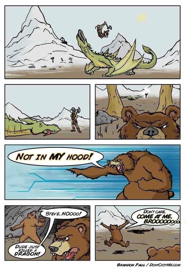 Fus Ro Bear. . Fus Ro Bear