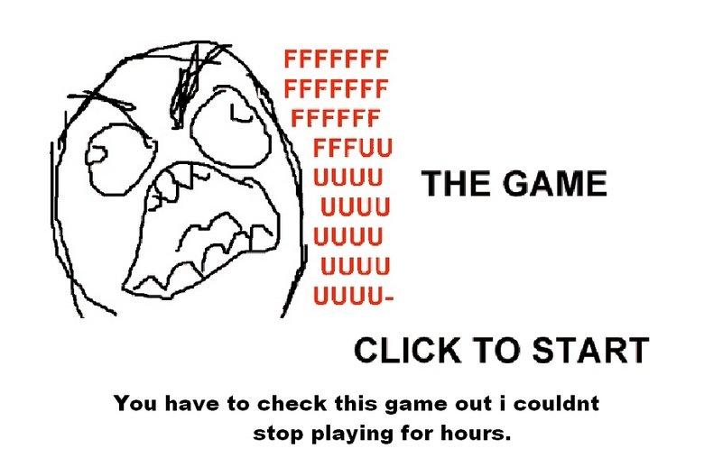 "fuuuu the game. <br /> i got over 9000<br /> see how well you can do. ciel, tait Um!"" THE GAME UGUU UGUU UGUU UGUU- CLICK TO STA RT You have to oloo The Game"