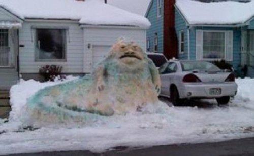 jabba snowman. jabba-snowman. Awesome Jabba snowman