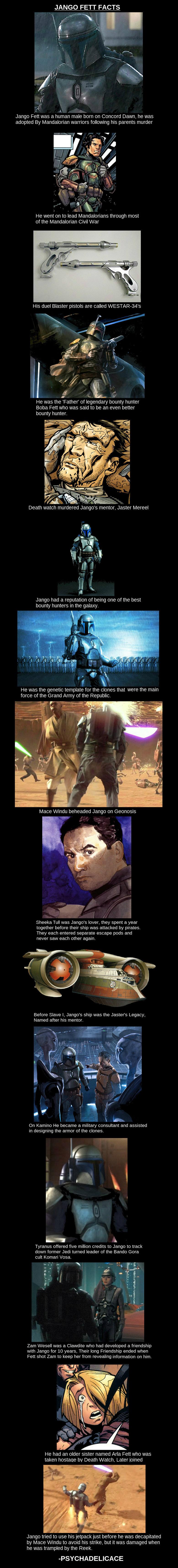 Jango Fett. . star wars Ace