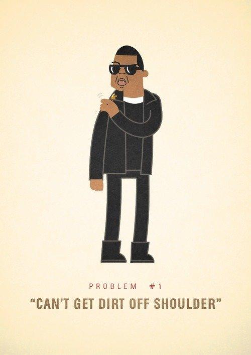 """Jay-Z's 99 problems. but a bitch aint one.. PROBLEM #3 MT DIRT Off: SHOULDER"""" 99 problems"""