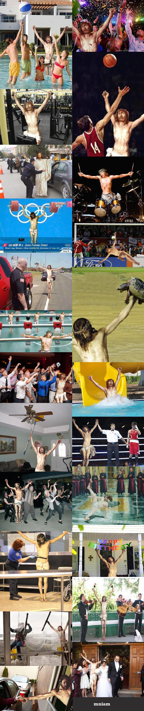 Jesus IRL. Just Jesus enjoying his life.. fucking jesus