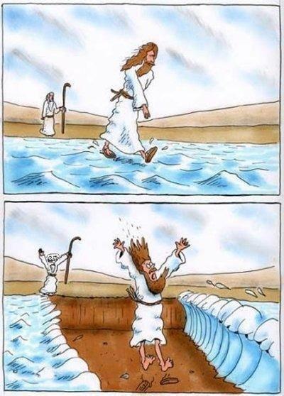 Jesus Moses. . Jesus Moses