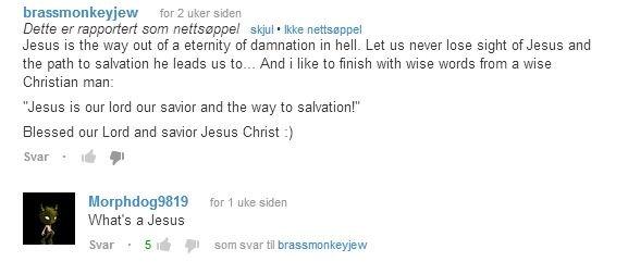 Jesus?. oc. Jesus? oc