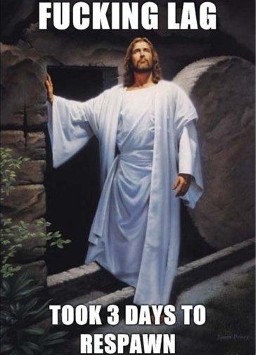 Jesus on Xbox live. Hello, this is a description. Thug aim