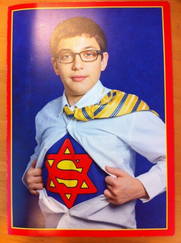JEWPERMAN. Found here: www.dorkly.com/picture/51652/super-ba..... superjew is that hard? Superman jewish