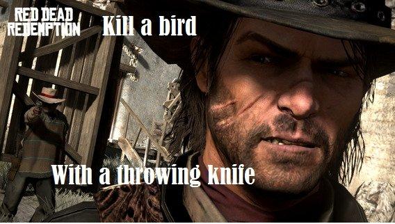 John Marston. .. Red Dead Redemption...Is an amazing game. like a Boss dead eye