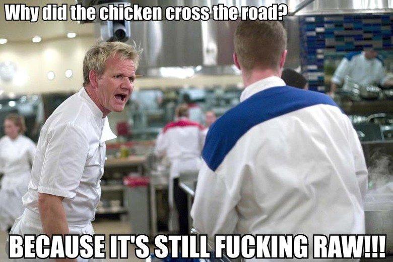 Joke. 99% OC. hells kitchen