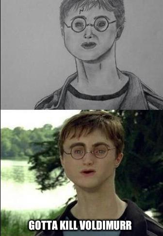 Nailed it.. . harry potter
