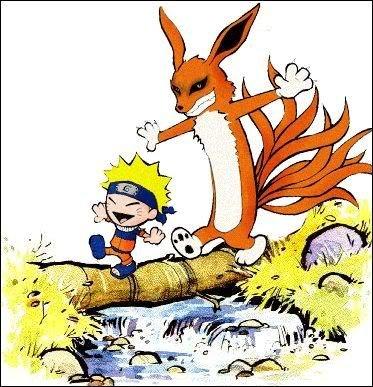 Naruto and Hobbes. Naruto and Hobbes. Naruto hobbes calvin and hobbe calvin
