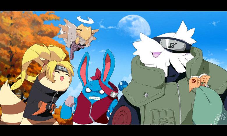 naruto plus pokemon equals wtf. .. didera ^,^