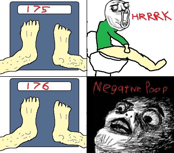 Negative Poo. D:.. HOWWW negative Poo lol