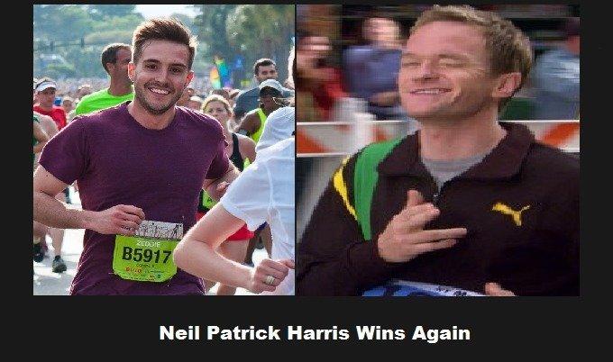 Neil Wins Again. Not quite, Zeddie.. Neil Patrick Harris Wins Again