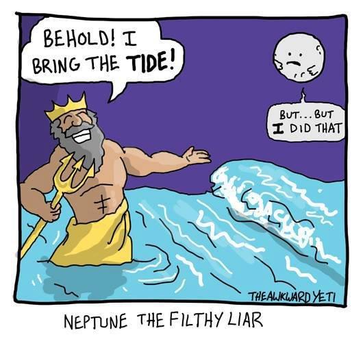 Neptune is an asshole. .. Uranus is an asshole. neptune Moon asshole