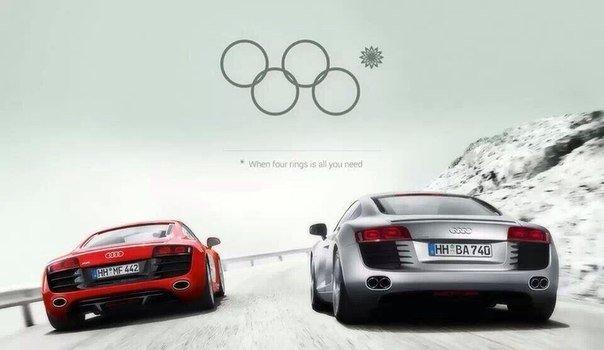 New Audi ad. .. riiiiiings New Audi ad riiiiiings