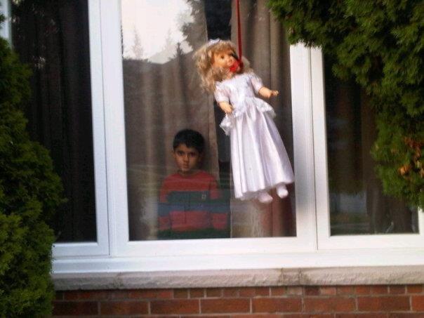 New neighbor.... .. YOU'RE NEXT interesting creepy new neighbor