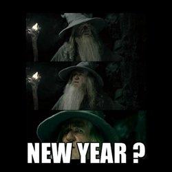 New Years...already ?. Happy New Years.. new years meme