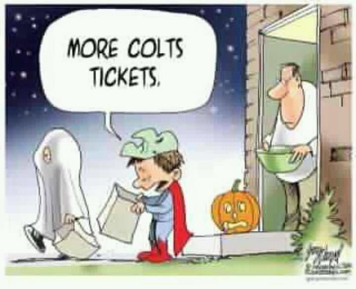 NFL Trick or Treat Joke. NFL Trick or Treat Joke, Colts fans.. nfl trick or tre