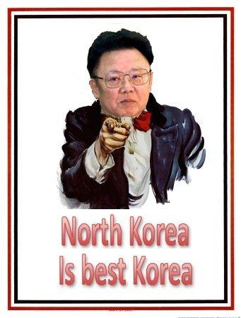 North Korea is best Korea!. OC by me. North Korea is a