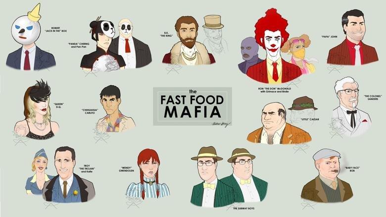 "Not O.C.. fast food mafia. Hope its not a repost. noun JACK IN ms"" AOX nu"" mm Mum"" arcane and rangman the an mum. and mm» swans FAST FOOD cano um? cum 111: noun Yo Mama"