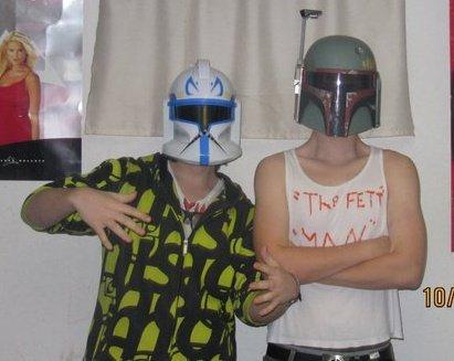 Nuff' Said. Rex and The fett man... Nuff said. The fett man star wars nuff said