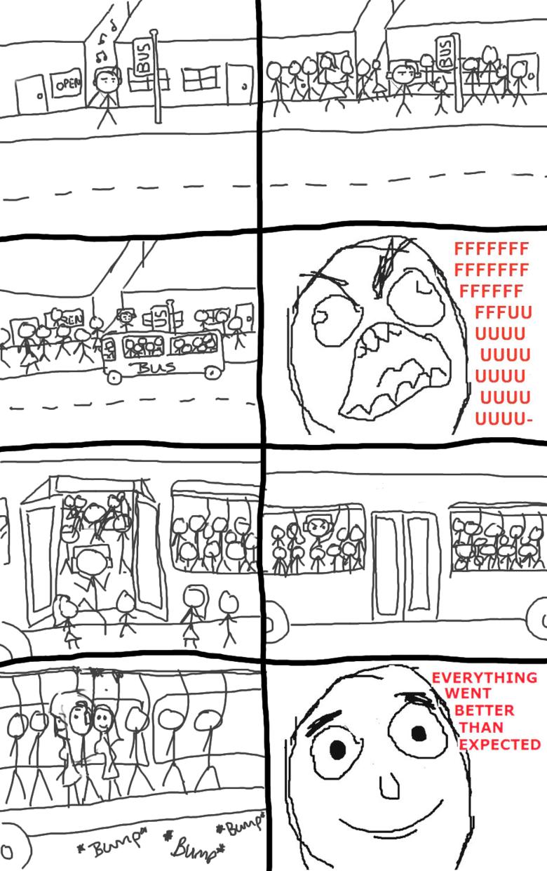 Raging on the Bus. Happened to me today!. Lt FFCCFF UGUU UGUU UGUU UGUU Bus rage Everything went better than expected i really like the now