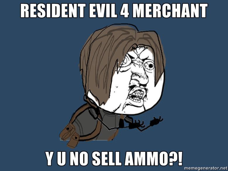 RE4. . RESILIENT Hill a, MENDICANT II Ito Slir AMINO?! memegenerator met Damn merchant