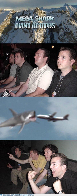 reaction guys comp. .. Now correct me if im wrong...but thats a plane..... Shark plane Reaction Guys