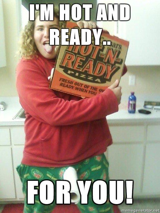 Really original meme. Brian Demers. Fat boy Pizza paper towl Penis