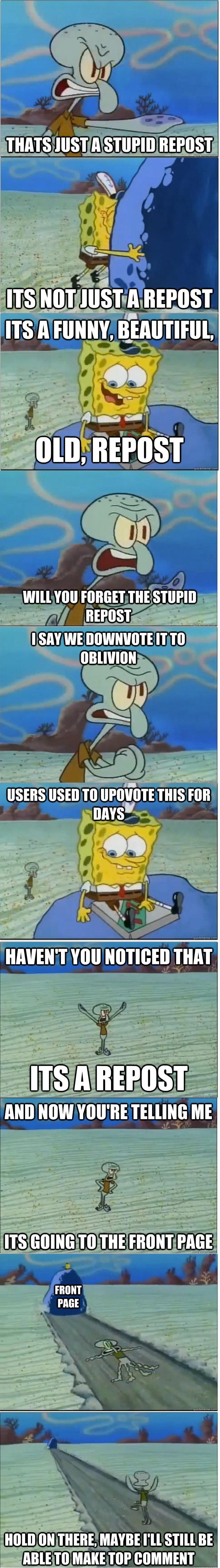 Reposts. Reposts.. ''Upvotes'' repost