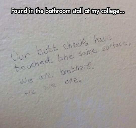 Restroom Poetry. . Restroom Poetry