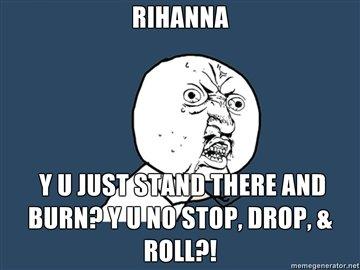 Rihanna. . If ll HIST iii! lall' ii' i' % um rihanna y u no d