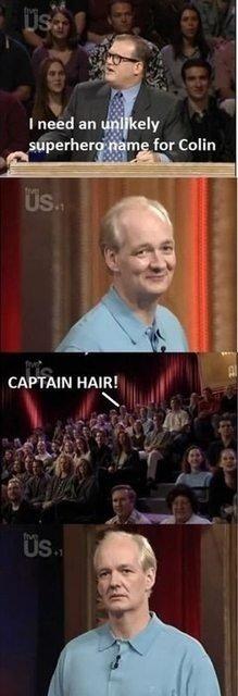 RIP colins hair. . RIP colins hair
