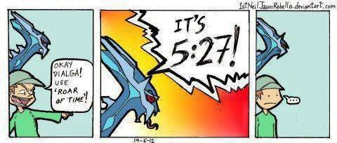 Roar Of Time. lol. osts Pokemon Dialga Time