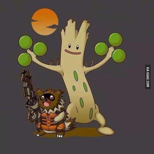 Rocket Zancoon. .. I love these pokemon crossovers. Pokemon i am sudowoodo
