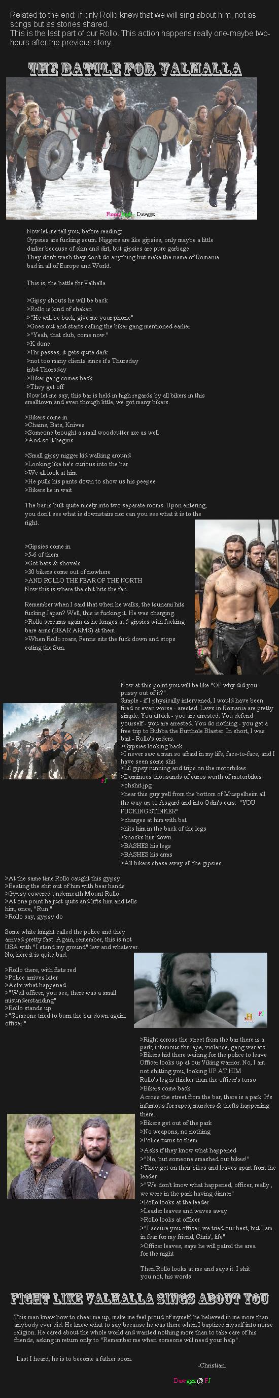 Rollo 4: The Battle for Valhalla. Worth. Part 1: /Bar+adventures+please+read+description/funny-p... Part 2: /Rollo+2+read+description/funny-pictures/5131629/ Pa Rollo beast Mode viking warrior VALHALLA odin aint Got shit
