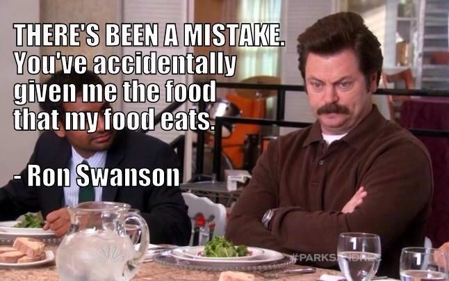 Ron Swanson. . Ron Swanson