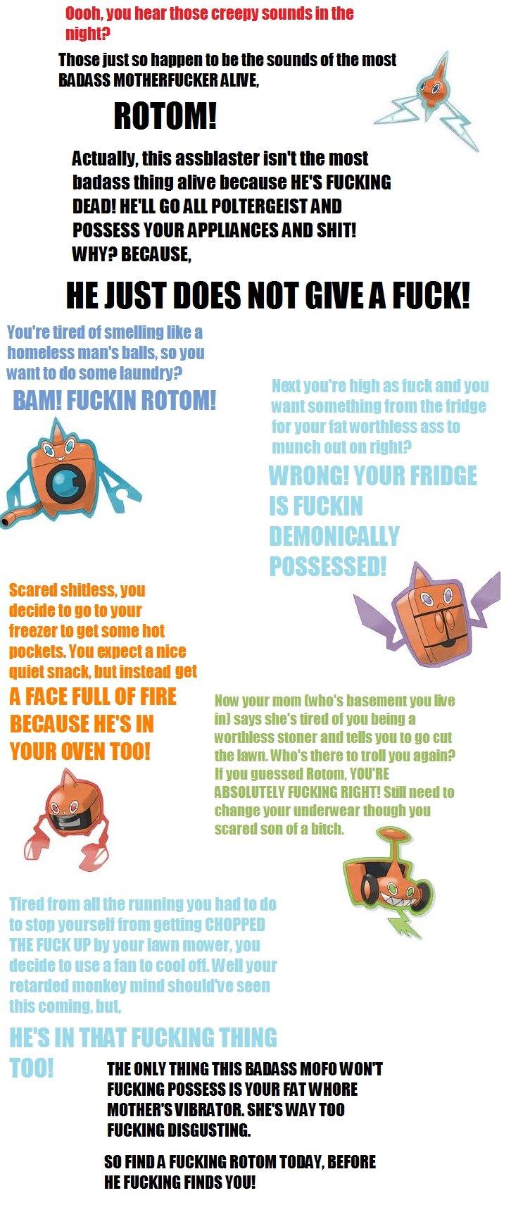 Rotom. consider your .. Rotom consider your